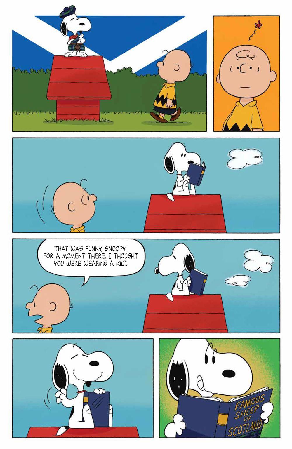 Peanuts_OGN_ScotlandBound_SC_PRESS_17 ComicList Previews: PEANUTS SCOTLAND BOUND CHARLIE BROWN GN