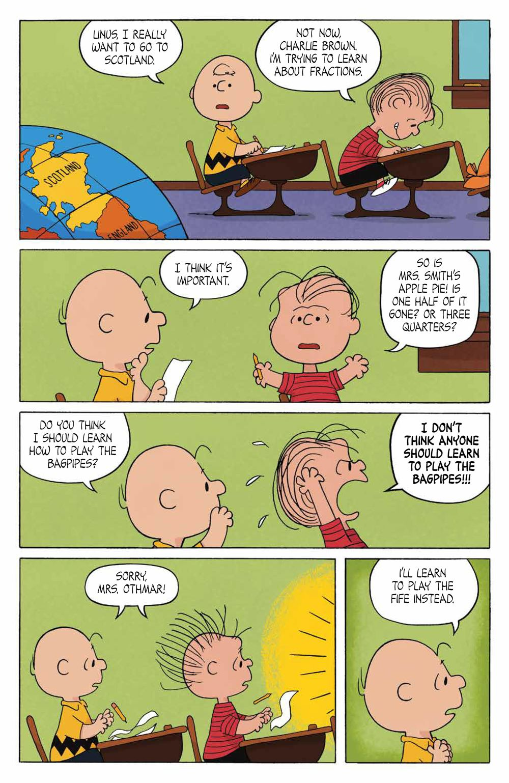 Peanuts_OGN_ScotlandBound_SC_PRESS_18 ComicList Previews: PEANUTS SCOTLAND BOUND CHARLIE BROWN GN