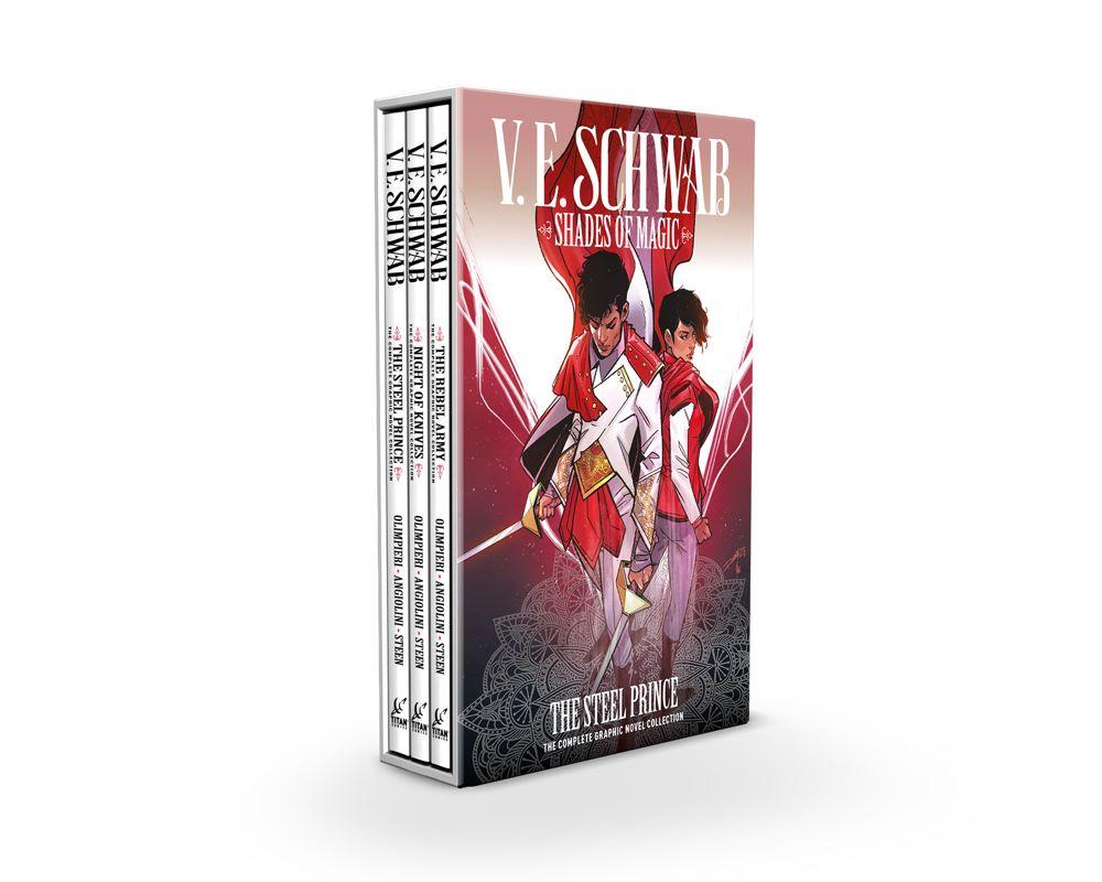SHADES-OF-MAGIC-BOXED-SET Titan Comics July 2021 Solicitations