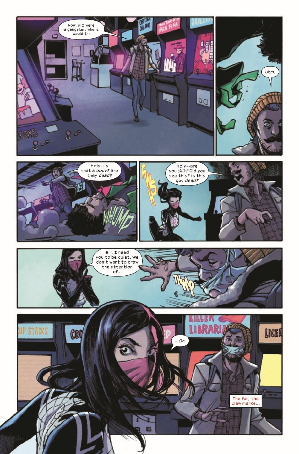 SILK2021002_Preview-3 ComicList Previews: SILK #2 (OF 5)