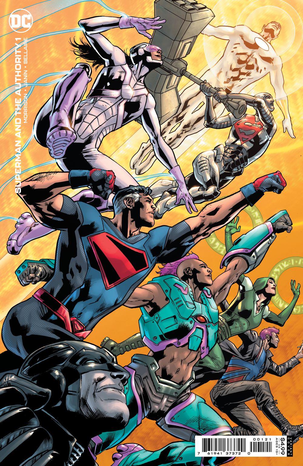 SMATA_Cv1_var DC Comics July 2021 Solicitations