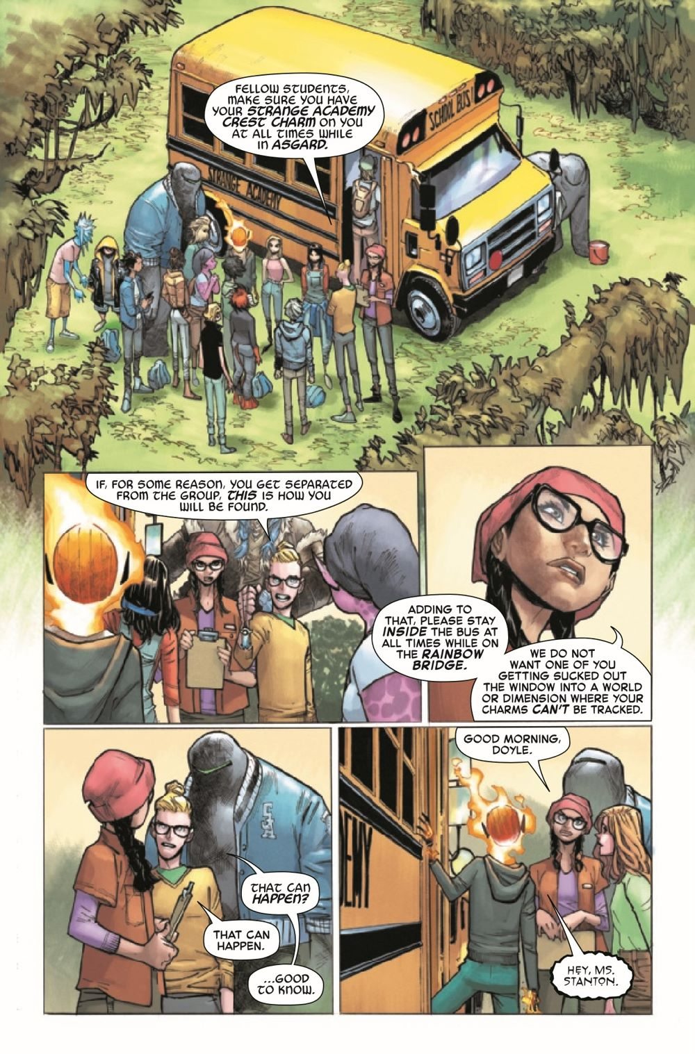 STRACADEMY2020010_Preview-3 ComicList Previews: STRANGE ACADEMY #10