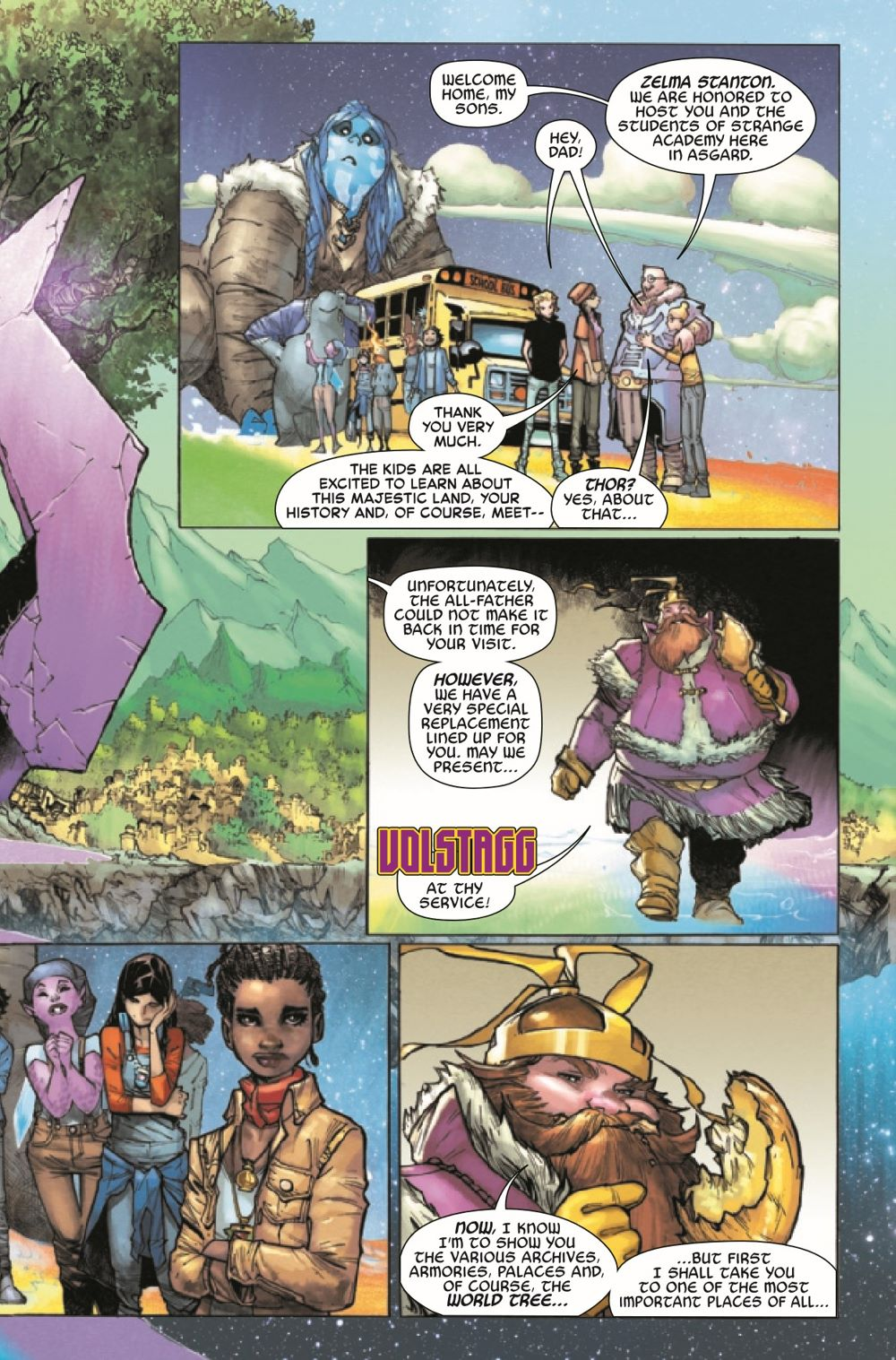 STRACADEMY2020010_Preview-7 ComicList Previews: STRANGE ACADEMY #10