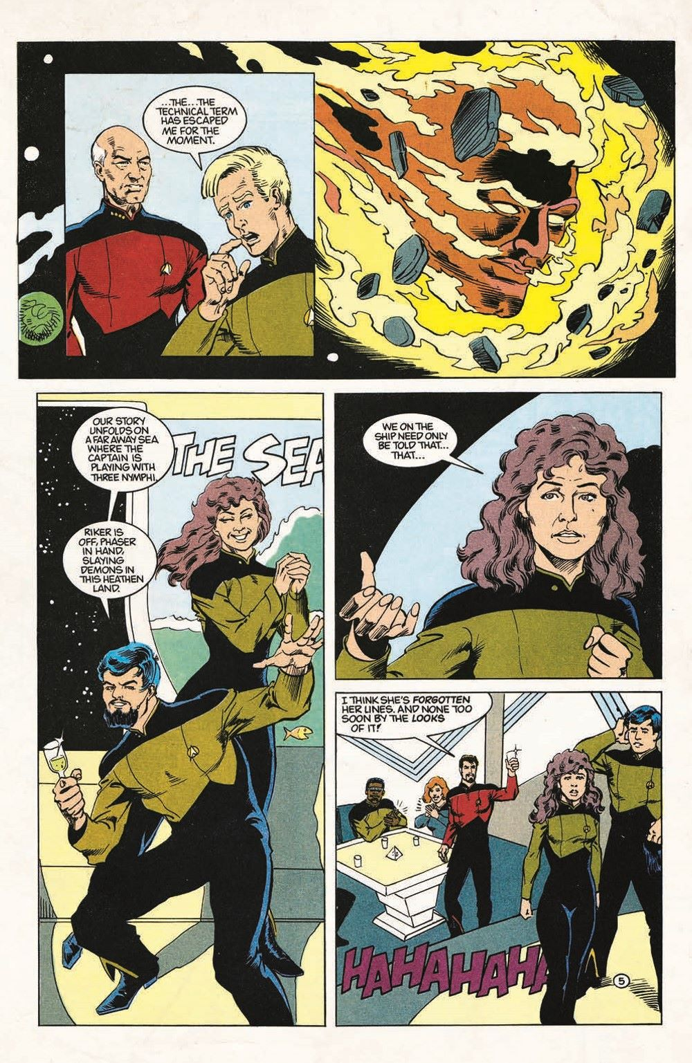 ST_TNG-TheGift-pr-7 ComicList Previews: STAR TREK THE NEXT GENERATION THE GIFT #1