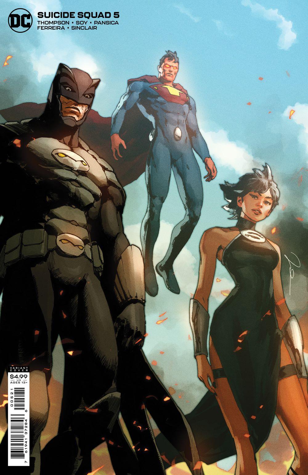SUICIDESQUAD_Cv5_var DC Comics July 2021 Solicitations