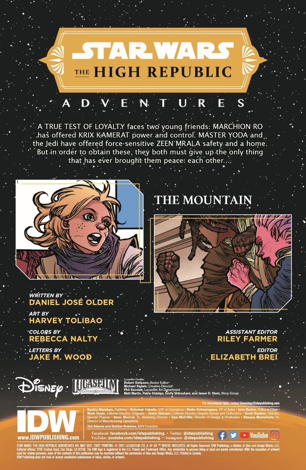SWAHRA04-pr-03 ComicList Previews: STAR WARS THE HIGH REPUBLIC ADVENTURES #4