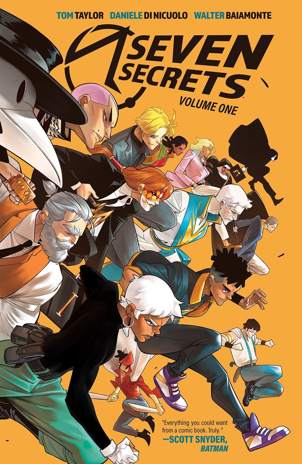 SevenSecrets_v1_SC_Cover ComicList Previews: SEVEN SECRETS VOLUME 1 TP