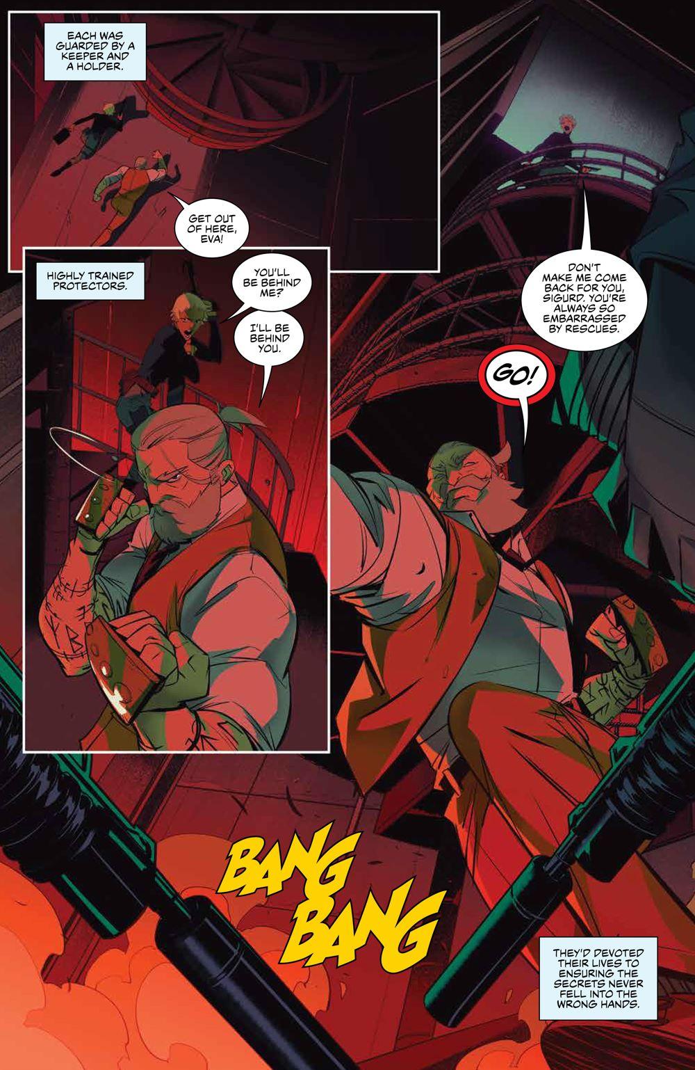 SevenSecrets_v1_SC_PRESS_12 ComicList Previews: SEVEN SECRETS VOLUME 1 TP