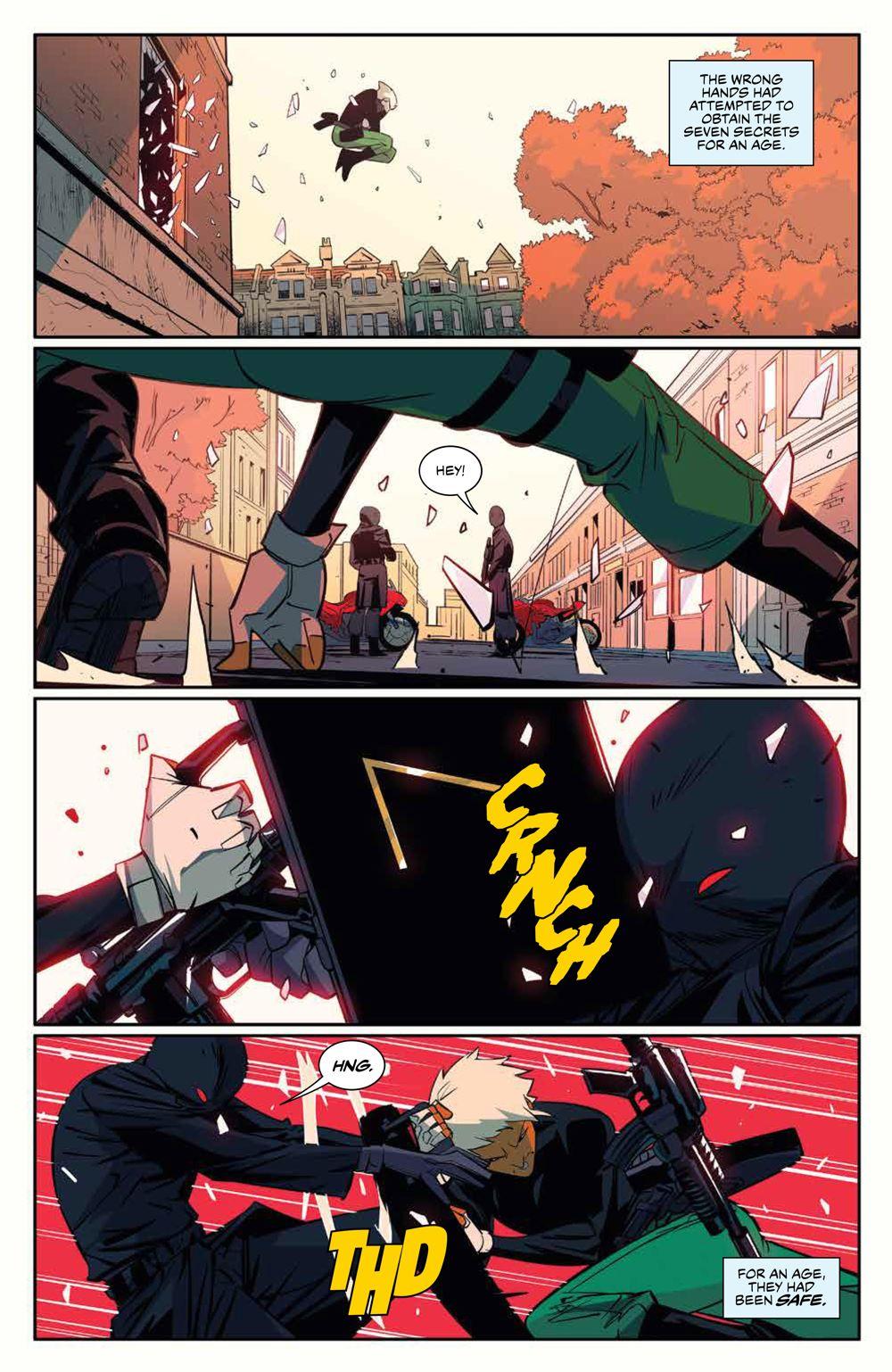 SevenSecrets_v1_SC_PRESS_13 ComicList Previews: SEVEN SECRETS VOLUME 1 TP