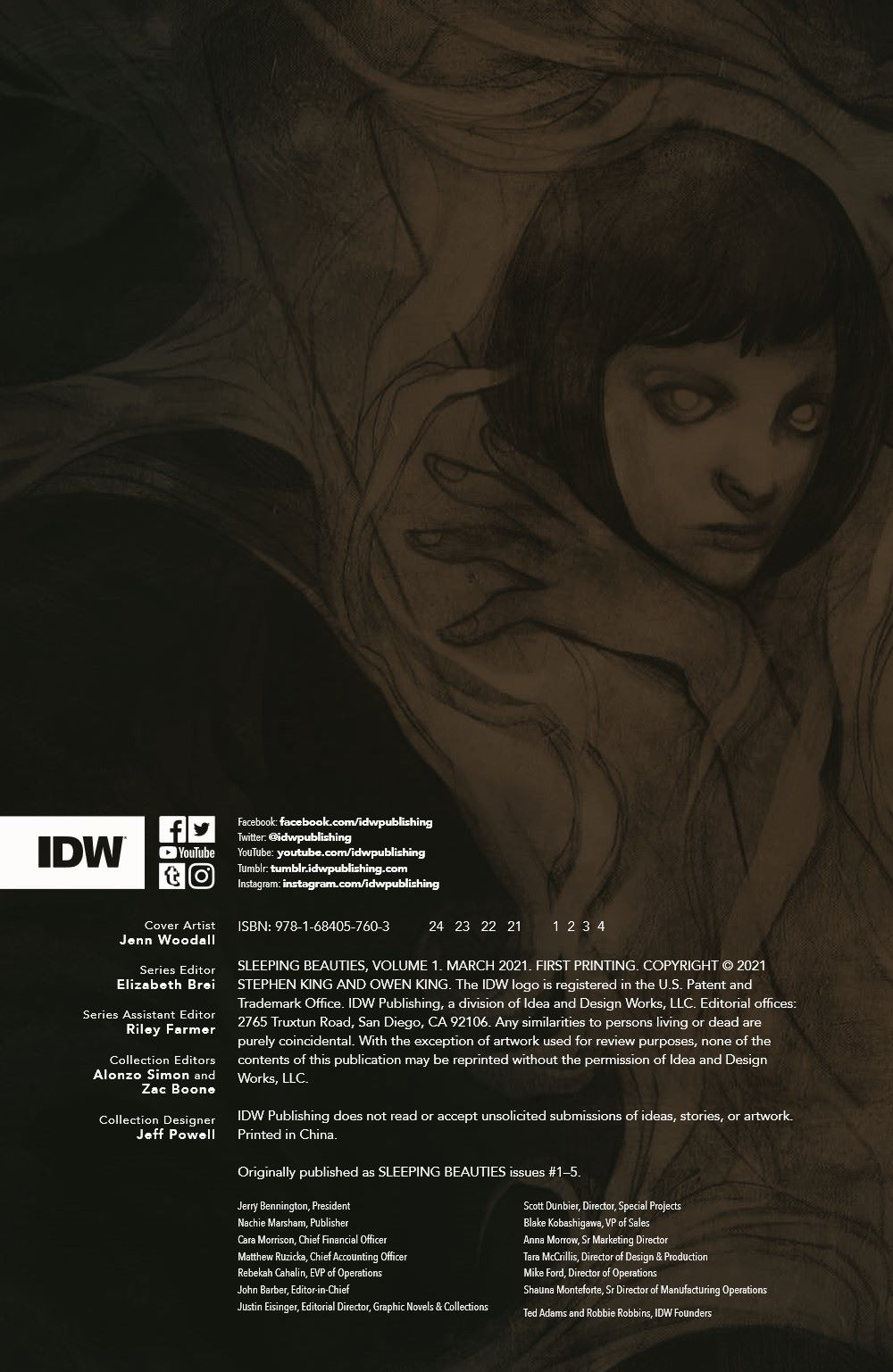 SleepingBeautiesHC_pr-2 ComicList Previews: SLEEPING BEAUTIES VOLUME 1 HC
