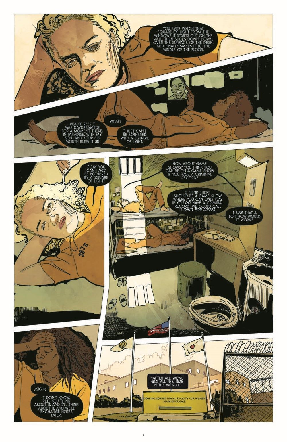 SleepingBeautiesHC_pr-6 ComicList Previews: SLEEPING BEAUTIES VOLUME 1 HC
