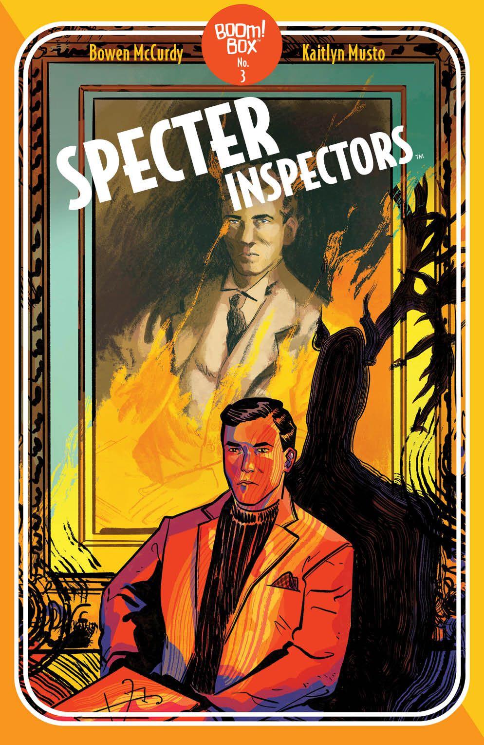 SpecterInspectors_003_Cover_B_Pocketbook ComicList Previews: SPECTER INSPECTORS #3 (OF 5)