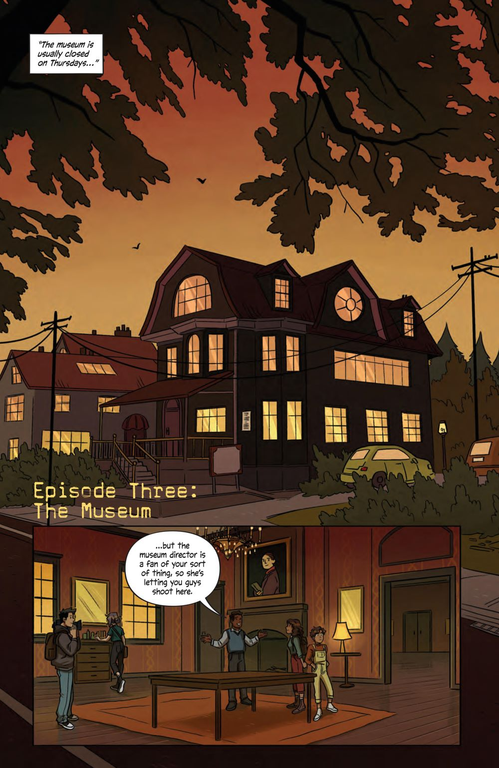 SpecterInspectors_003_PRESS_3 ComicList Previews: SPECTER INSPECTORS #3 (OF 5)