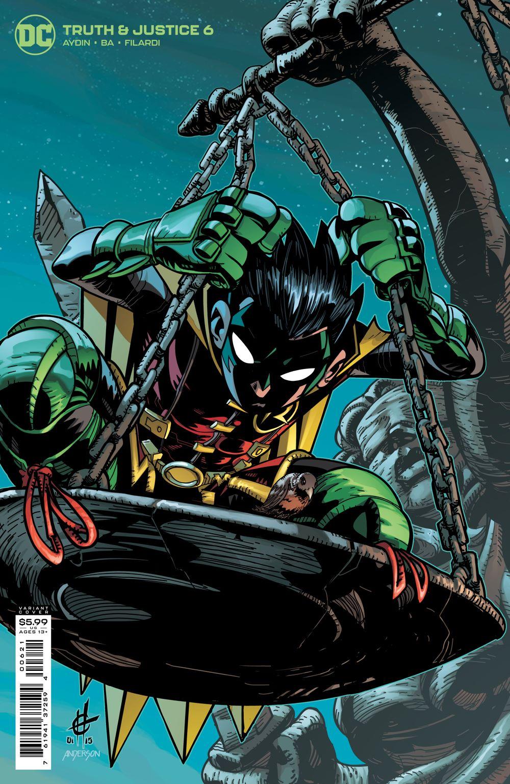 TAJ_Cv6_var DC Comics July 2021 Solicitations
