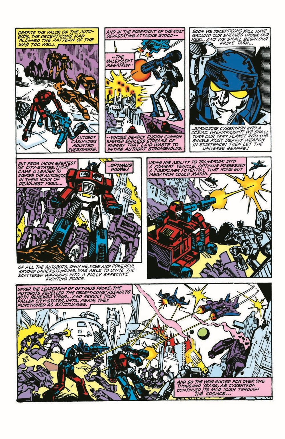 TF84-100PgGiant-pr-6 ComicList Previews: TRANSFORMERS '84 LEGENDS AND RUMORS 100-PAGE GIANT #1