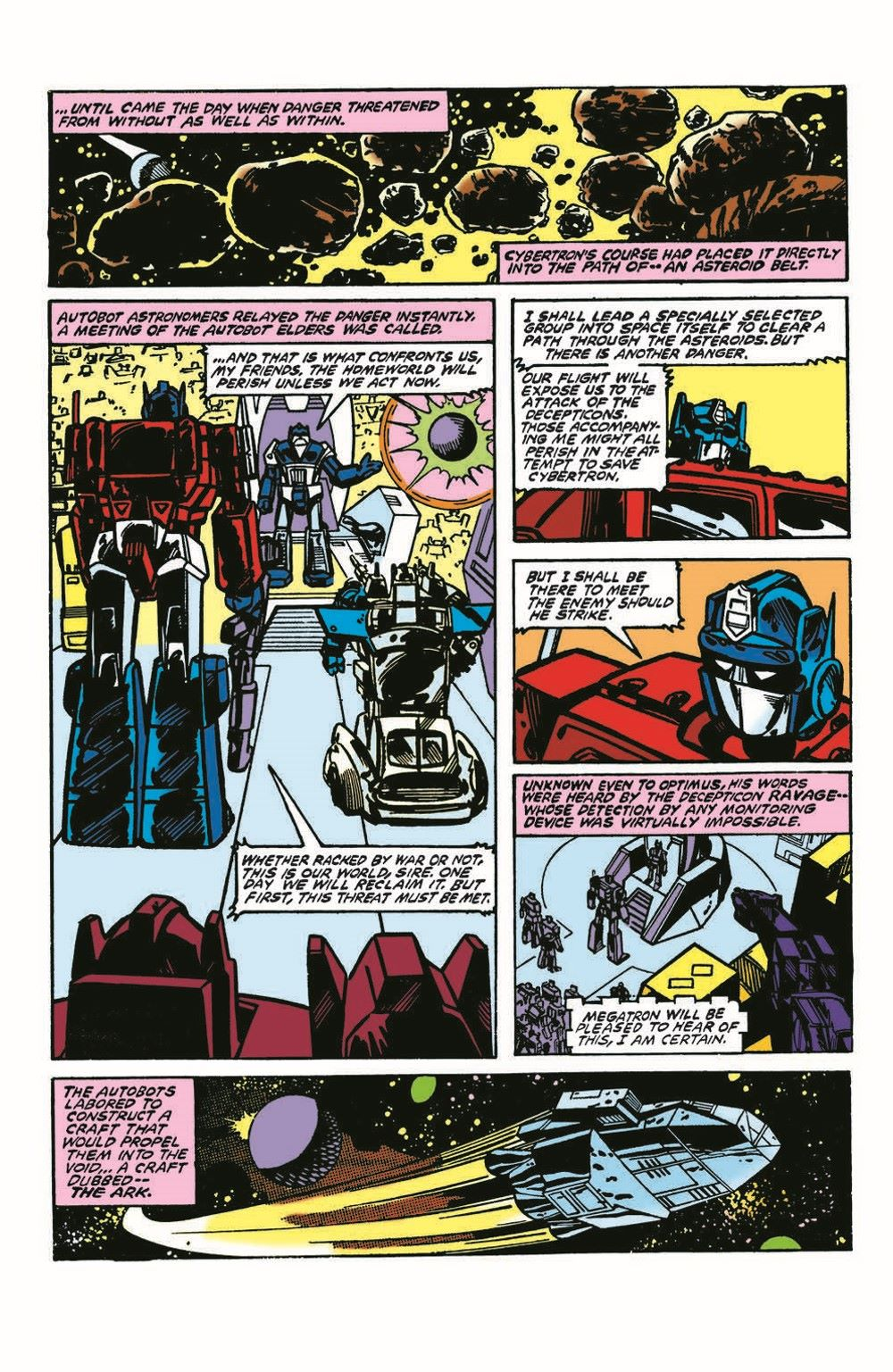 TF84-100PgGiant-pr-7 ComicList Previews: TRANSFORMERS '84 LEGENDS AND RUMORS 100-PAGE GIANT #1