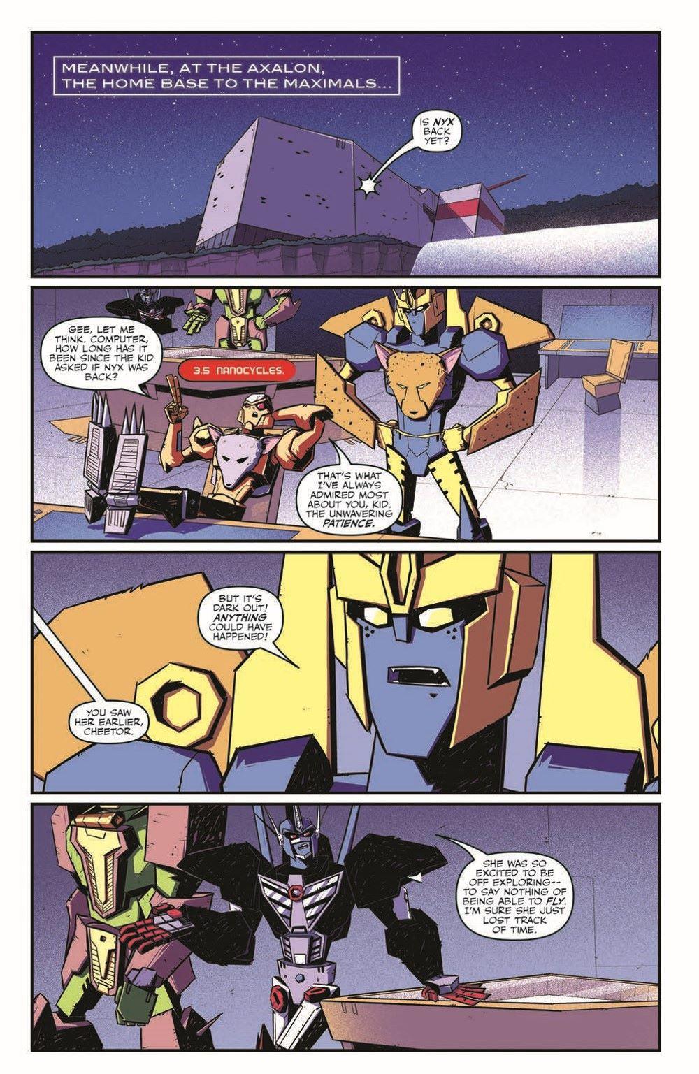 TFBW_03_pr-6 ComicList Previews: TRANSFORMERS BEAST WARS #3