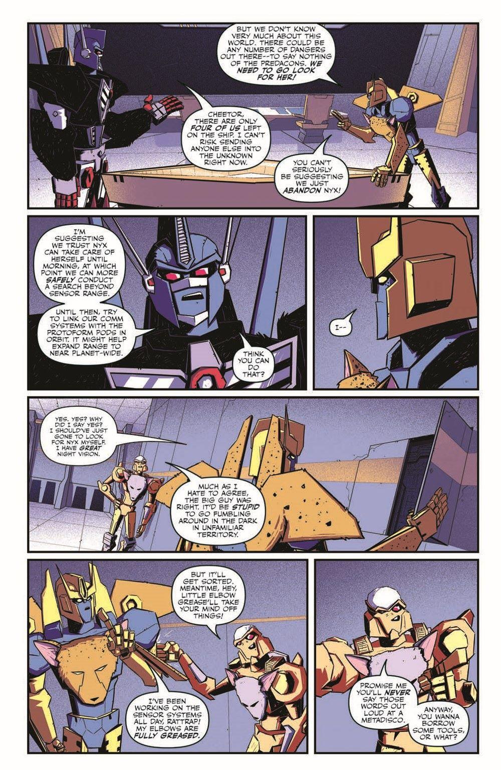 TFBW_03_pr-7 ComicList Previews: TRANSFORMERS BEAST WARS #3