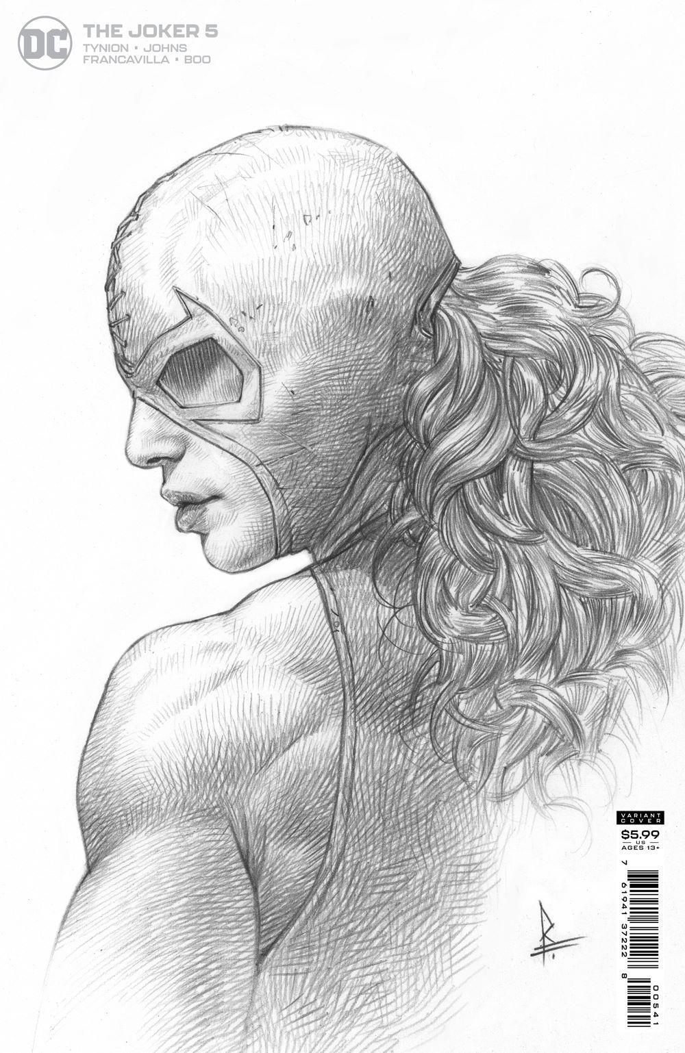 THEJOKER_Cv5_1in25_var DC Comics July 2021 Solicitations