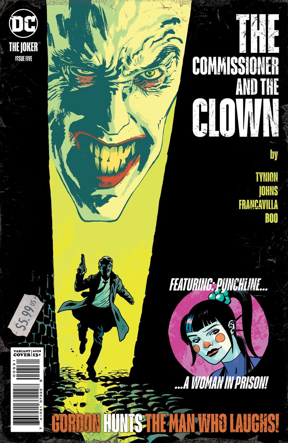 THEJOKER_Cv5_var2 DC Comics July 2021 Solicitations