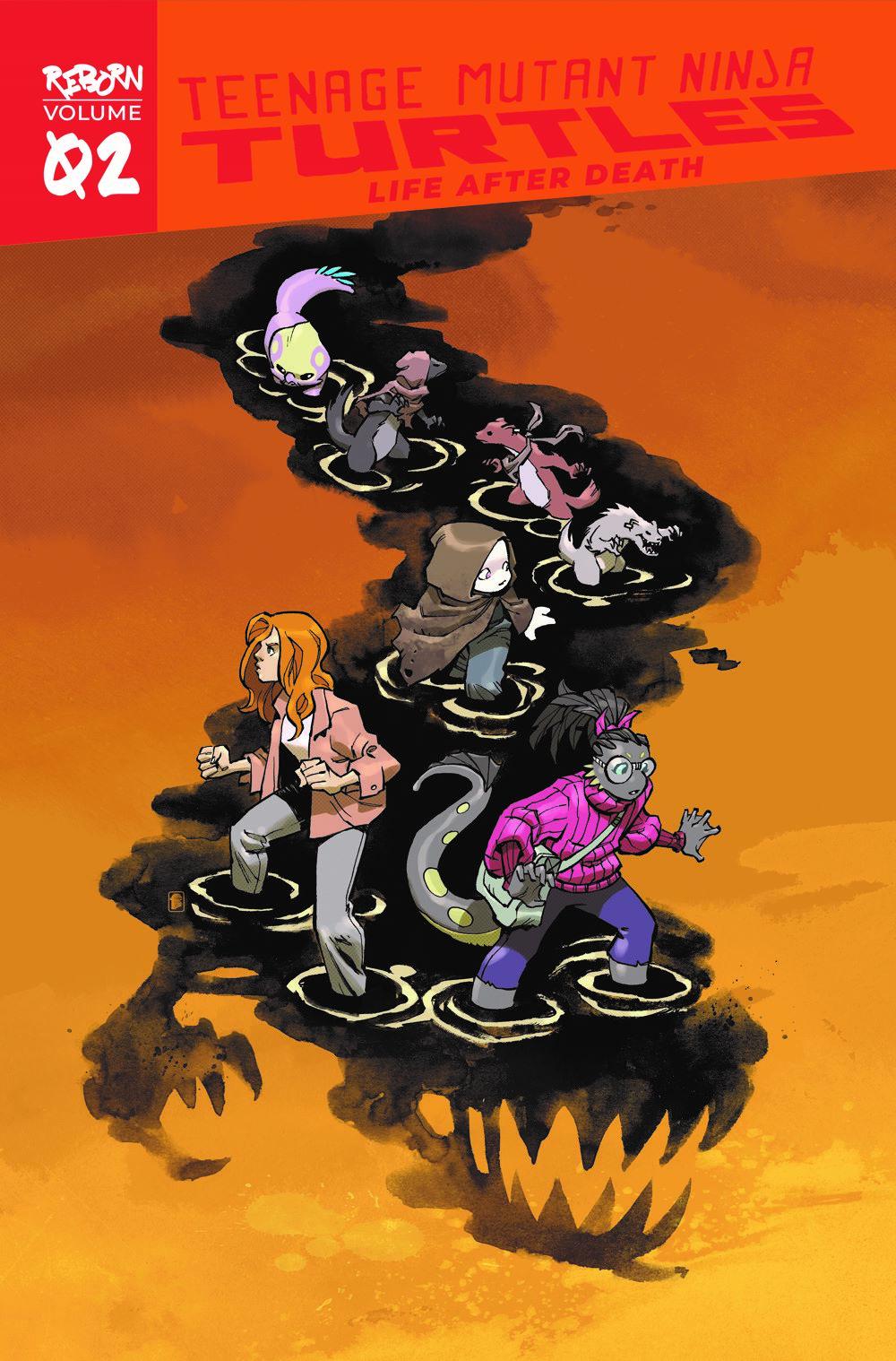 TMNT-Reborn02_cvr ComicList Previews: TEENAGE MUTANT NINJA TURTLES REBORN VOLUME 2 LIFE AFTER DEATH TP