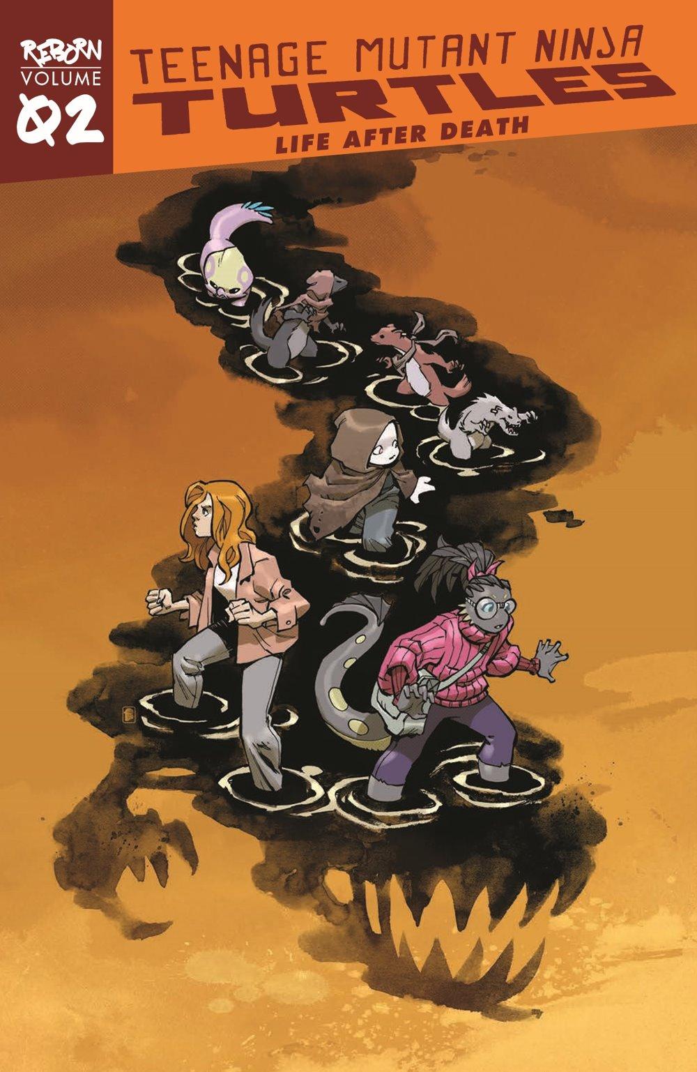 TMNT-Reborn02_pr-1 ComicList Previews: TEENAGE MUTANT NINJA TURTLES REBORN VOLUME 2 LIFE AFTER DEATH TP