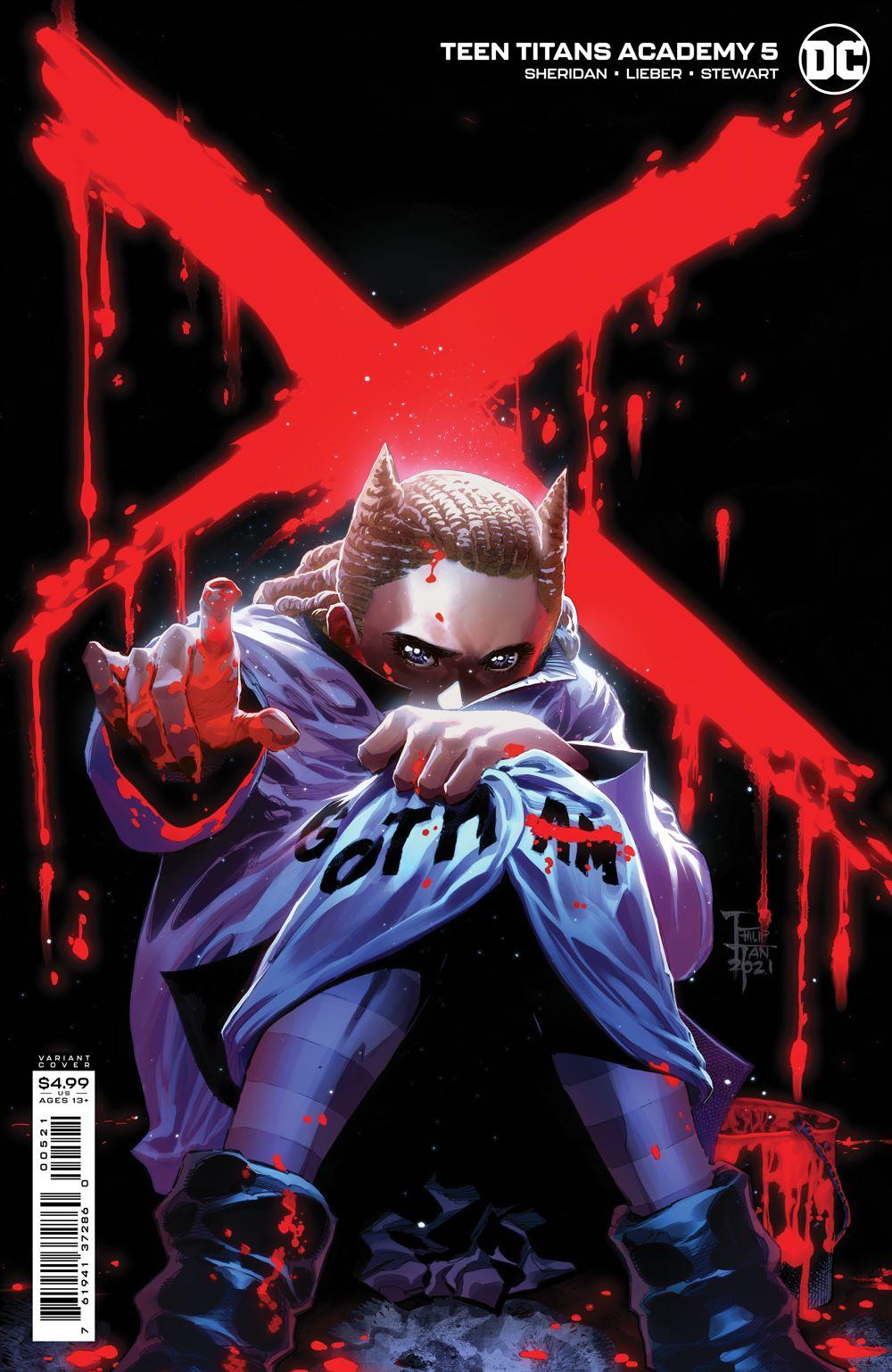 TT_ACADEMY_Cv5_var DC Comics July 2021 Solicitations