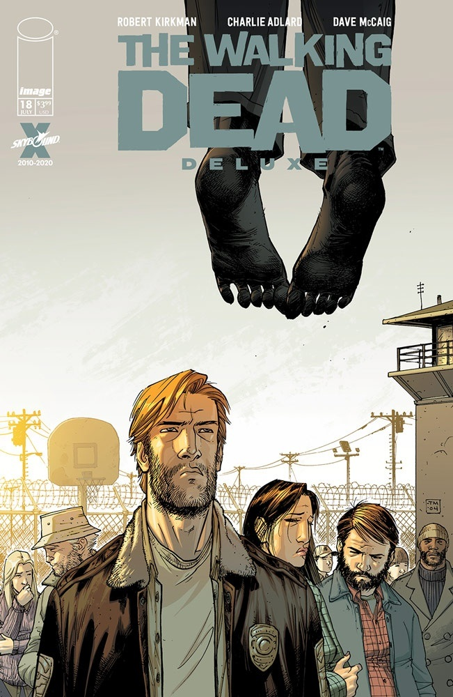 TheWalkingDeadDeluxe_18b_moorecover Image Comics July 2021 Solicitations