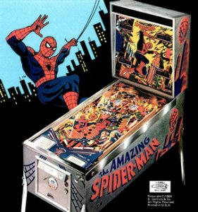 The_Amazing_Spider-Man_Pinball_Flyer-281x300 Gottlieb's Amazing Spider-Man Brings the Web Shooter to Life!