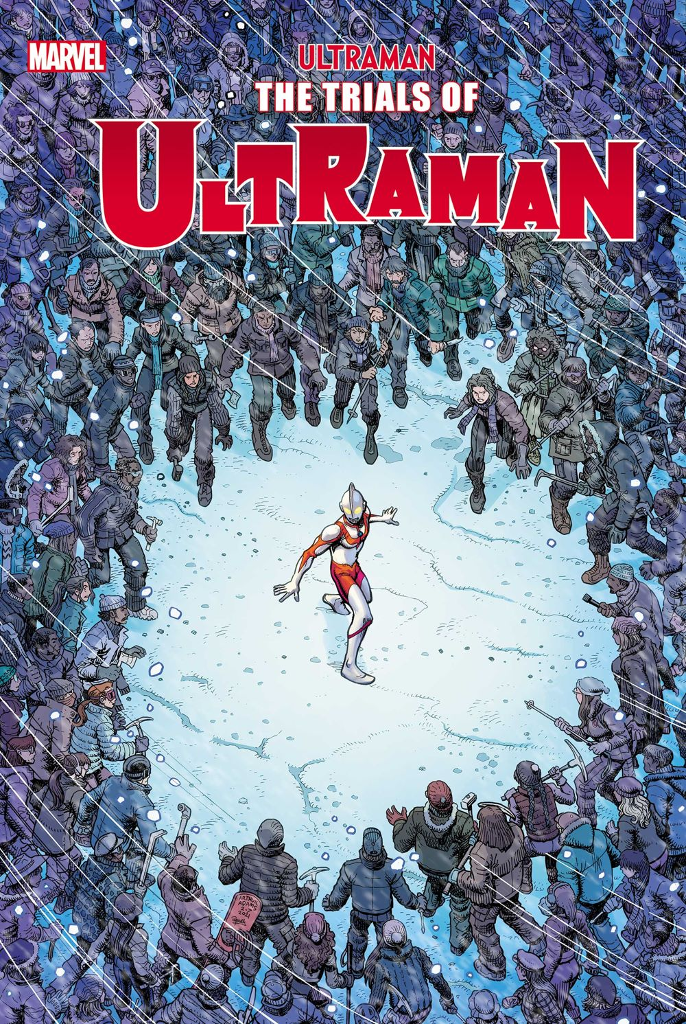 ULTRAMANTRIALS2021004_Cov Marvel Comics July 2021 Solicitations