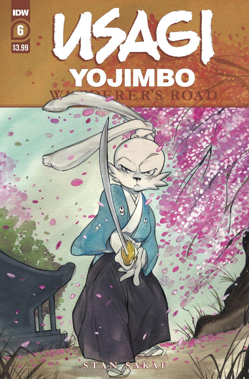 Usagi-WR06_cvrA ComicList Previews: USAGI YOJIMBO WANDERER'S ROAD #6 (OF 6)