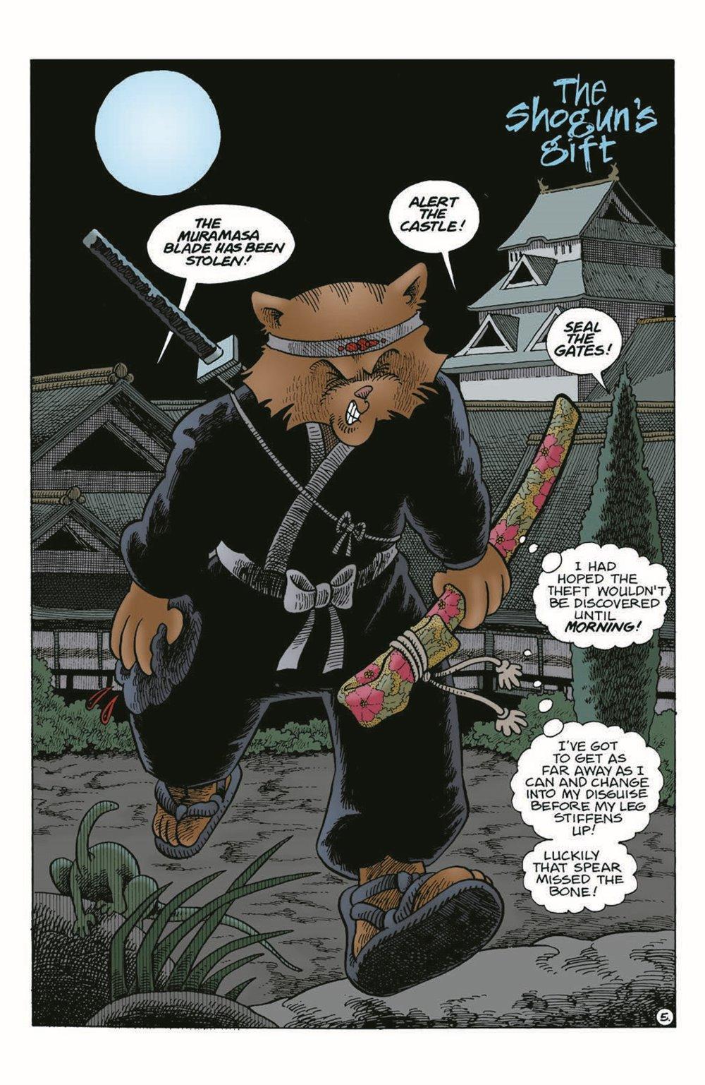 Usagi-WR06_pr-7 ComicList Previews: USAGI YOJIMBO WANDERER'S ROAD #6 (OF 6)