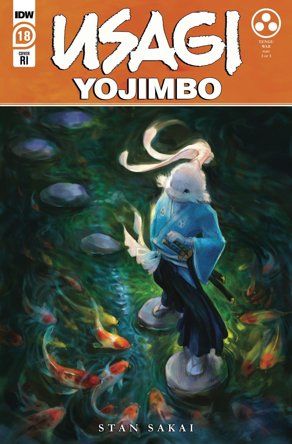 Usagi18_cvrRI ComicList: IDW Publishing New Releases for 04/14/2021