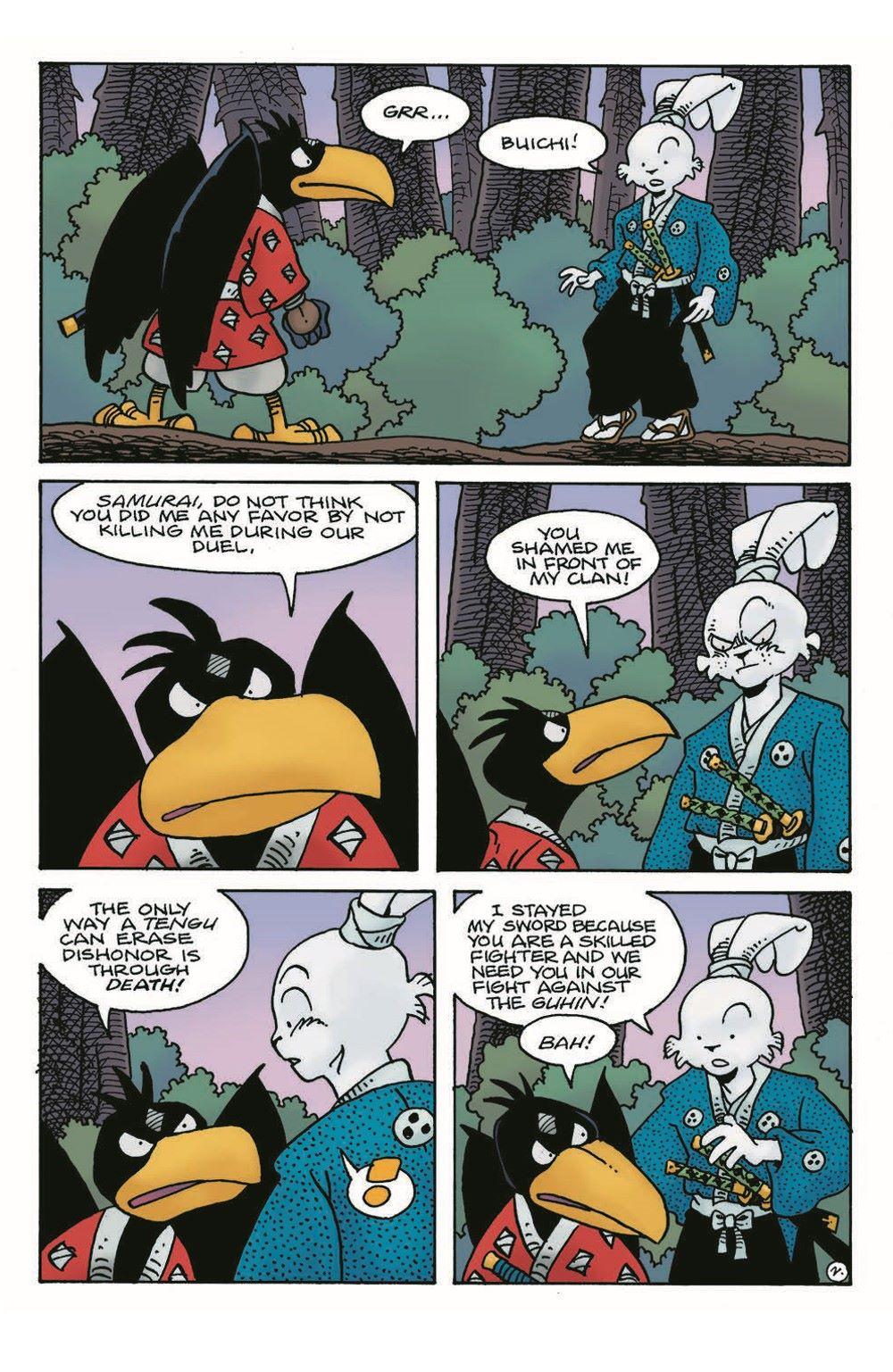 Usagi18_pr-4 ComicList Previews: USAGI YOJIMBO #18