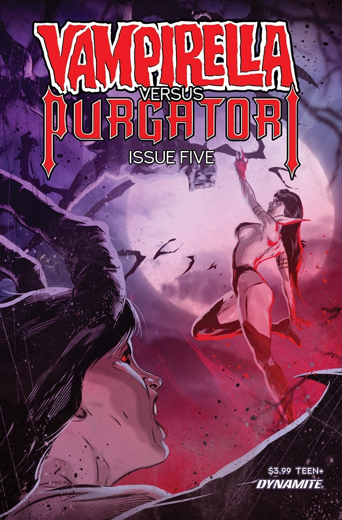 VampiPurgatori-05-05031-C-Kudranski Dynamite Entertainment July 2021 Solicitations