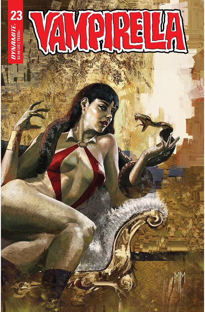 Vampirella-23-23021-B-Mastrazzo Dynamite Entertainment July 2021 Solicitations