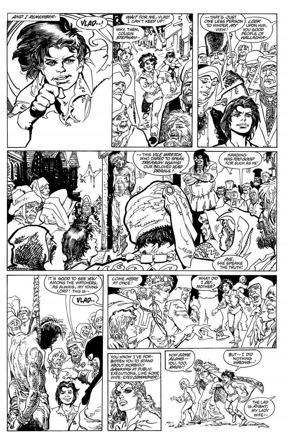 VladTheImpaler_TPB_pr-6 ComicList Previews: DRACULA VLAD THE IMPALER GN
