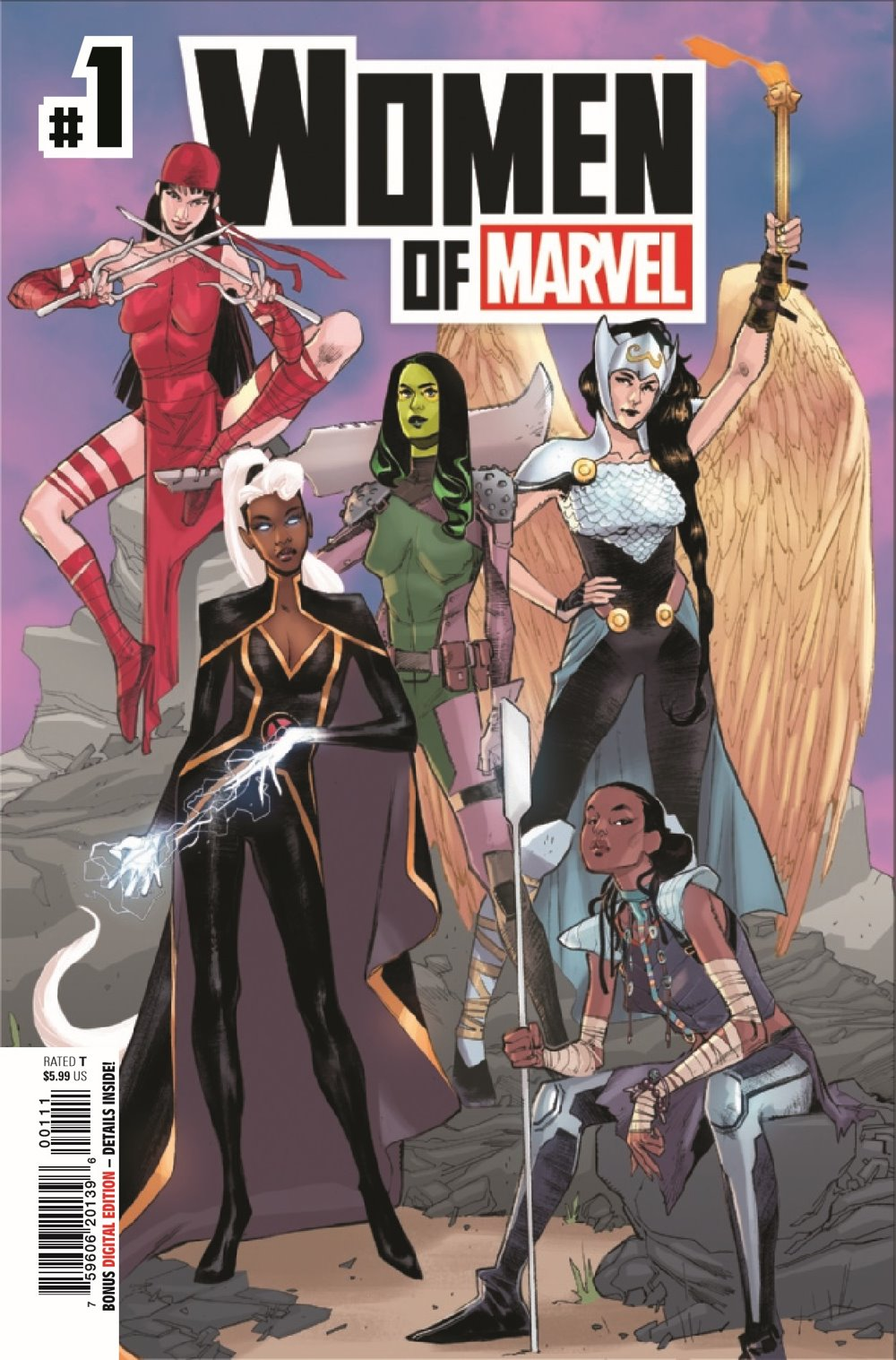 WOM2021001_Preview-1 ComicList Previews: WOMEN OF MARVEL #1