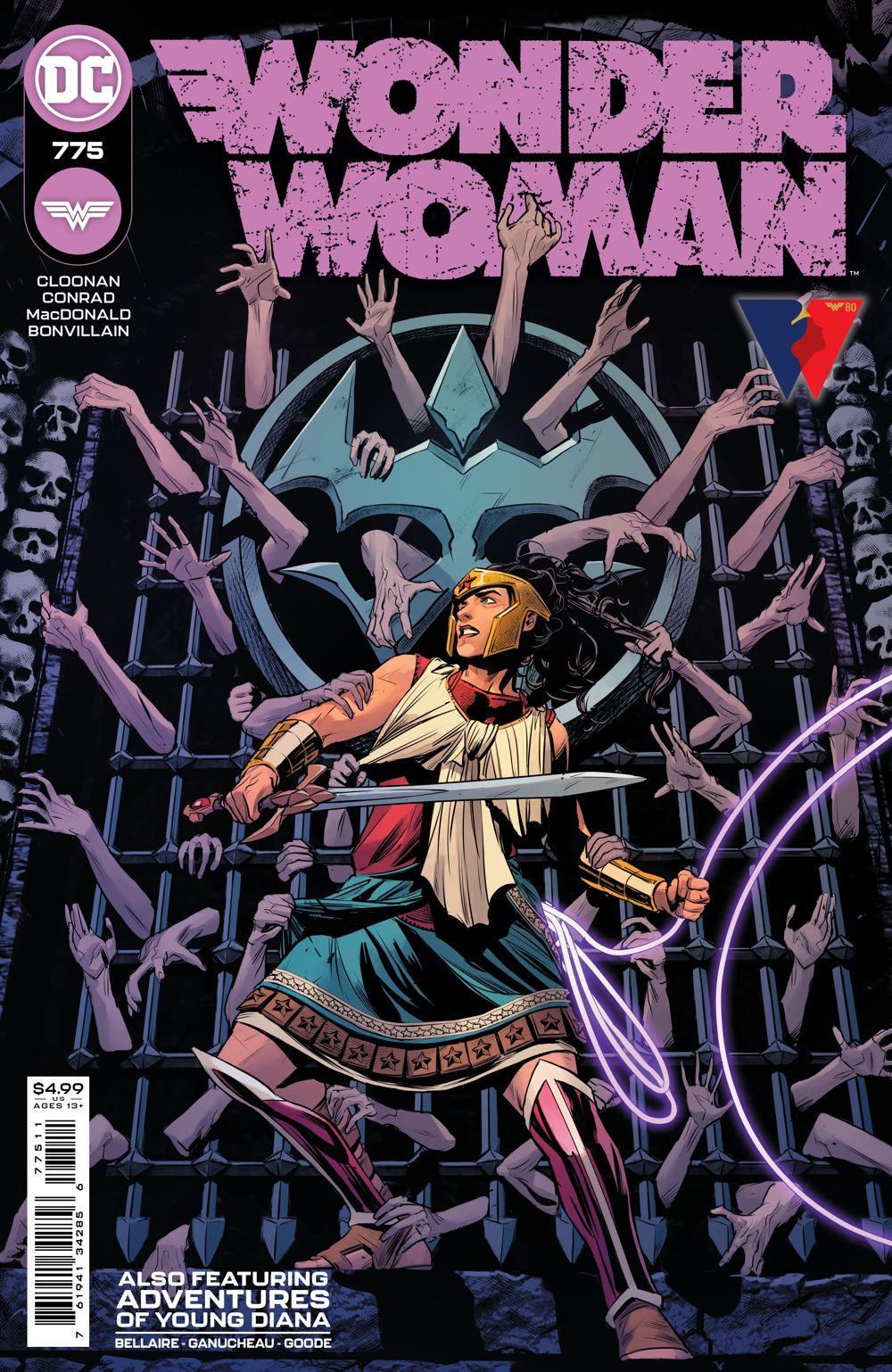 WONDERWOMAN_Cv775 DC Comics July 2021 Solicitations