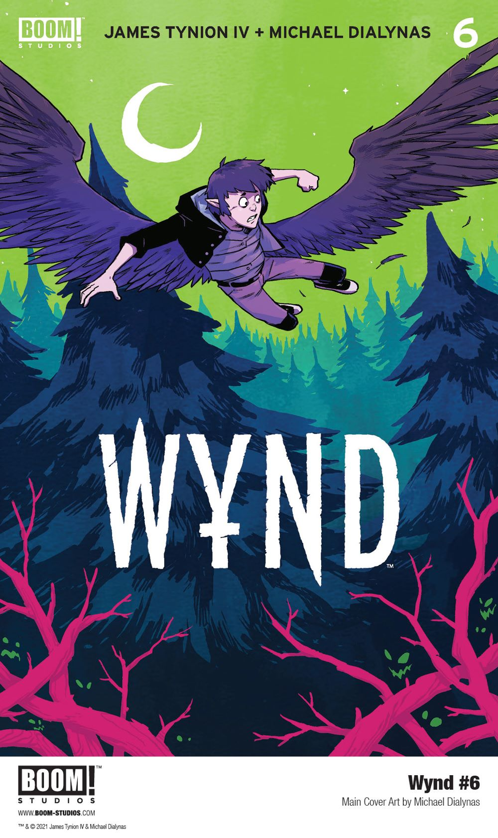 Wynd_006_Cover_Main_PROMO-2 First Look at BOOM! Studios' WYND #6