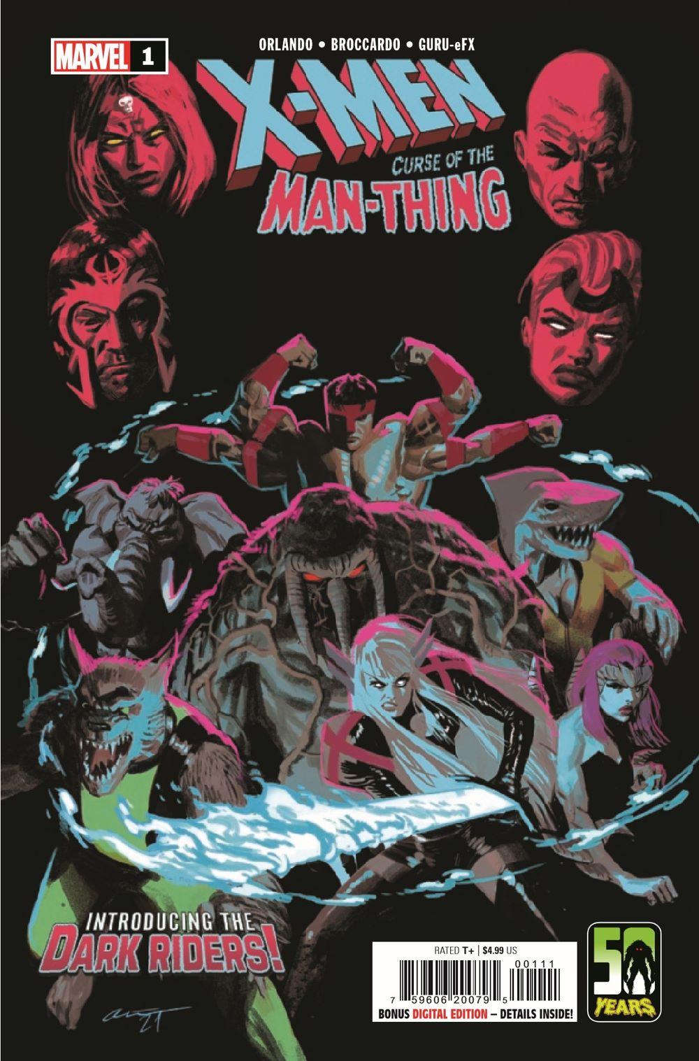 XMENMANTHINGCURSE2021001_Preview-1 ComicList Previews: X-MEN CURSE OF THE MAN-THING #1