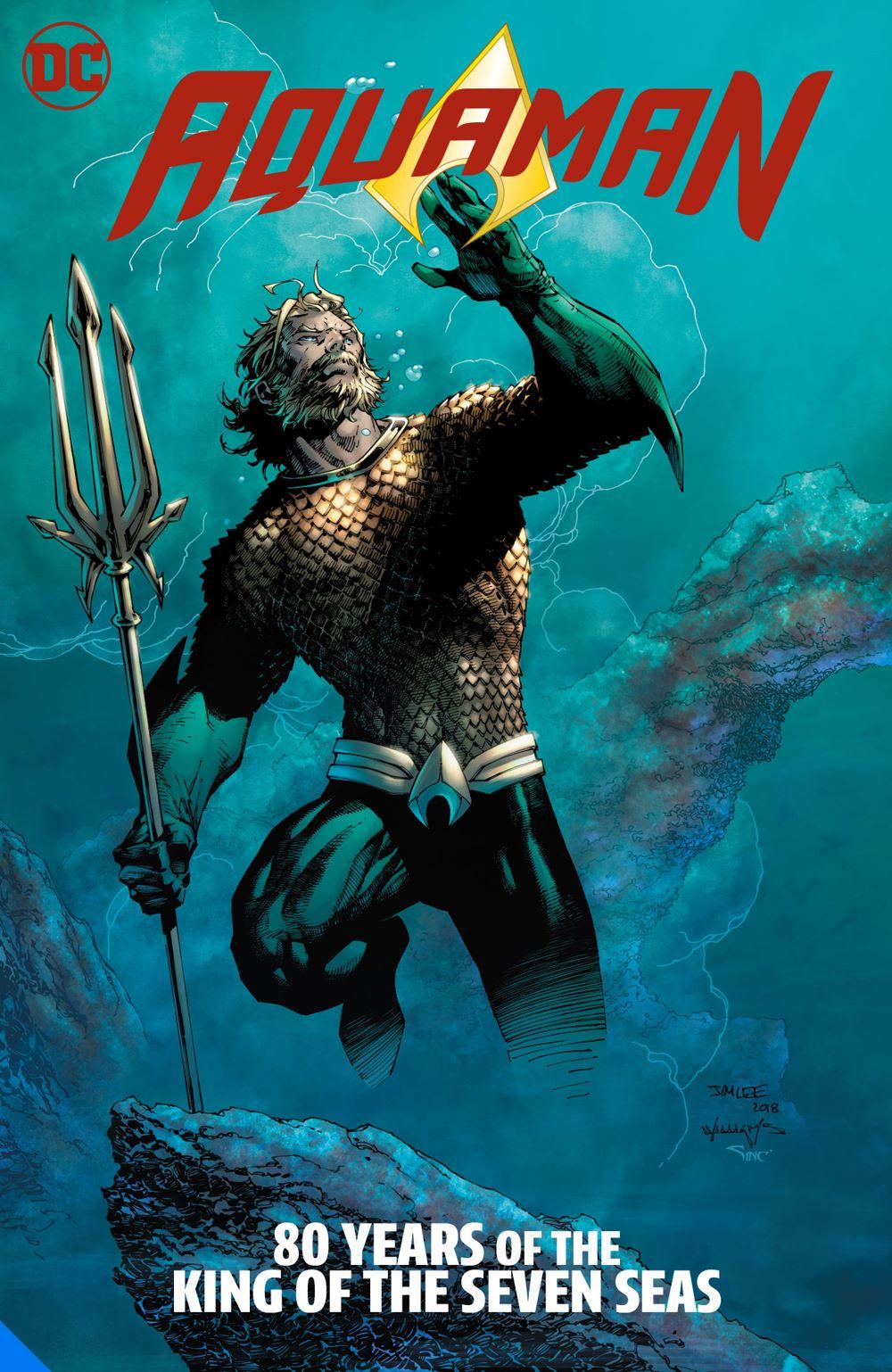 aquaman80years-dlx_adv DC Comics July 2021 Solicitations