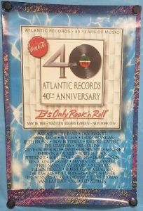 atlantic-records-40-204x300 The Posters of Led Zeppelin Reunions