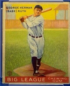 babe-ruth-3-244x300 Sports Cards Collecting Class #5: 1933 Goudey is a Game Changer!