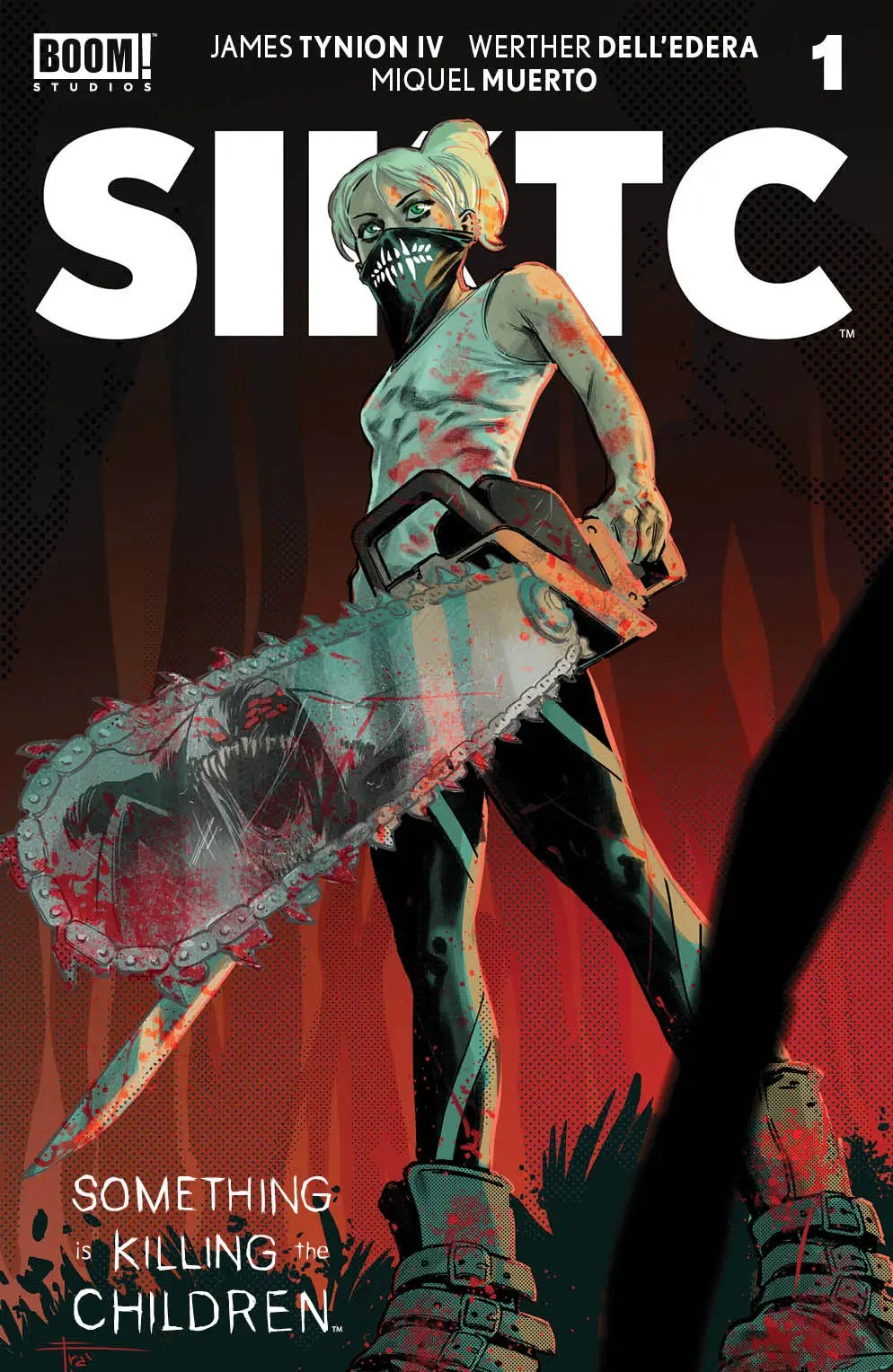 c921d1ce-9c70-45a4-9d0a-f7f488c558d6 SOMETHING IS KILLING THE CHILDREN #1 eighth printing announced by BOOM! Studios