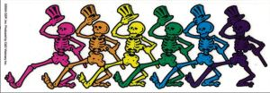 dancing-skeletons-300x104 The Mascots And Logos of Grateful Dead Art