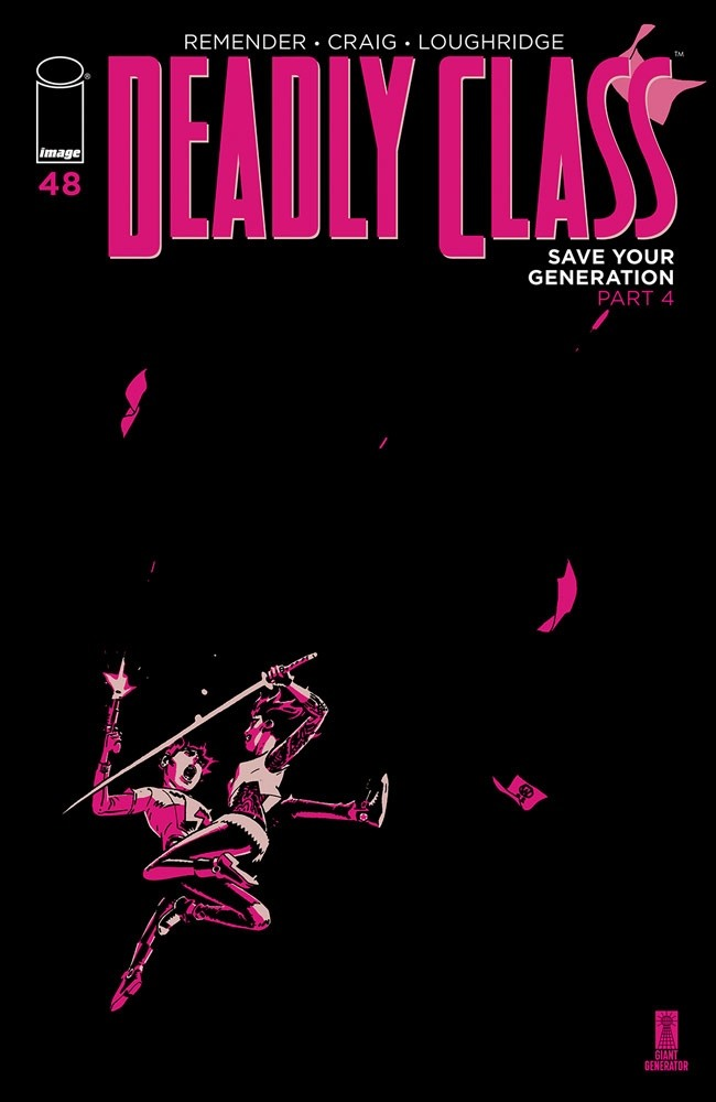 deadlyclass_48a Image Comics July 2021 Solicitations