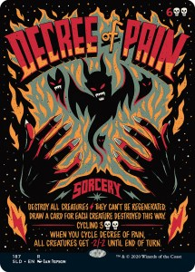 decree-of-pain-215x300 Magic: The Gathering In The Style of Concert Posters - Our Show Is On Friday, Can You Make It?