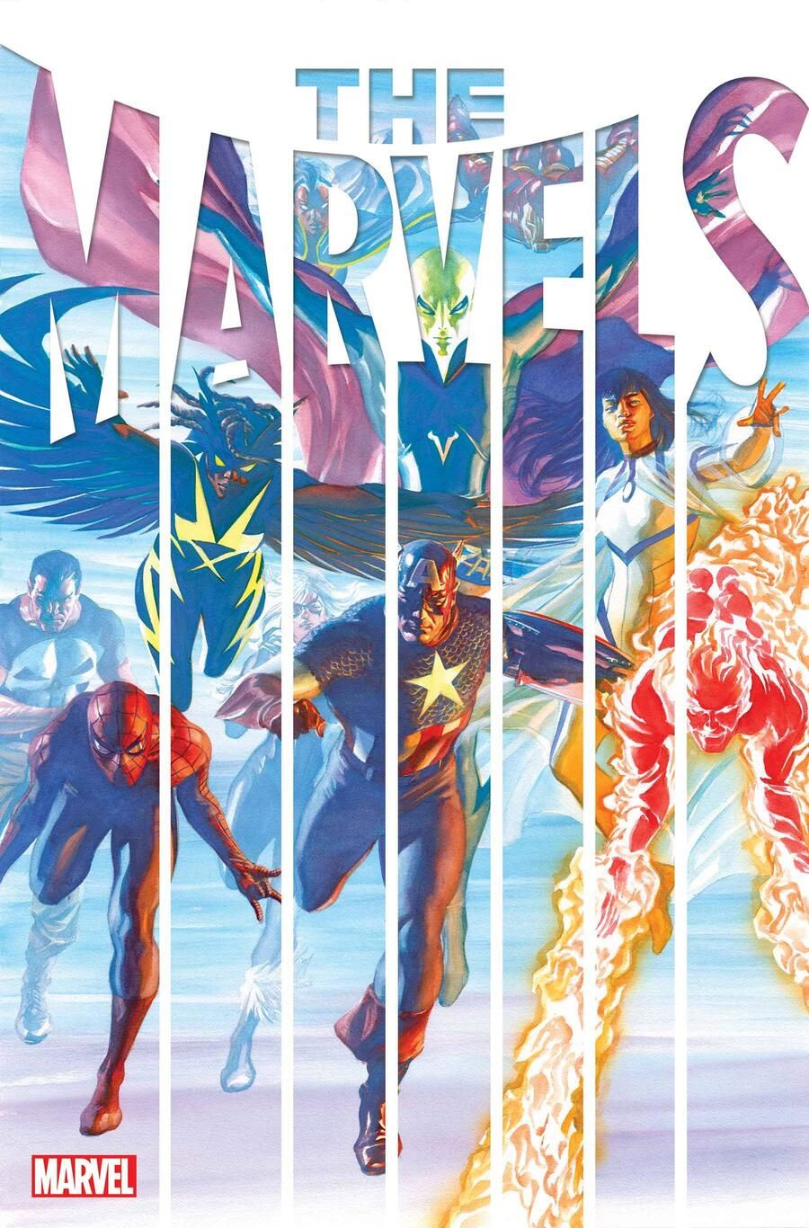 marvels_2021001_cov THE MARVELS #1 will introduce new heroes and villains