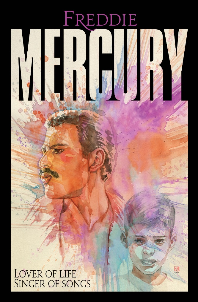 14332faf-5032-9adc-112a-8df166d0bbd7 Z2 Comics to publish first official Freddie Mercury graphic novel